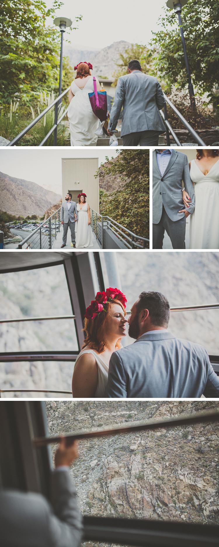 Palm SPrings Tram Wedding Photos