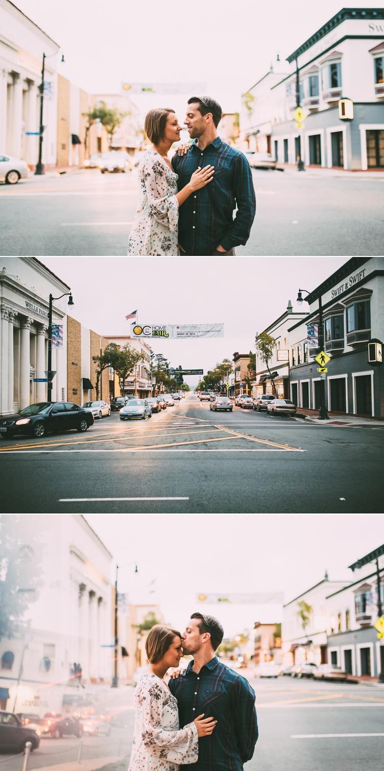 City Of Orange Engagement Photos