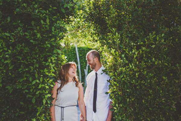 Backyard Wedding In Palm Springs