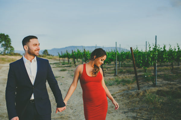 Temecula Wine Country Engagement Photos