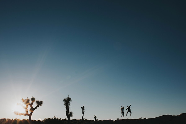 Engagement Photos In Joshua Tree California
